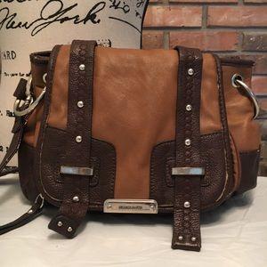 Franco Sarto brown cross body bag